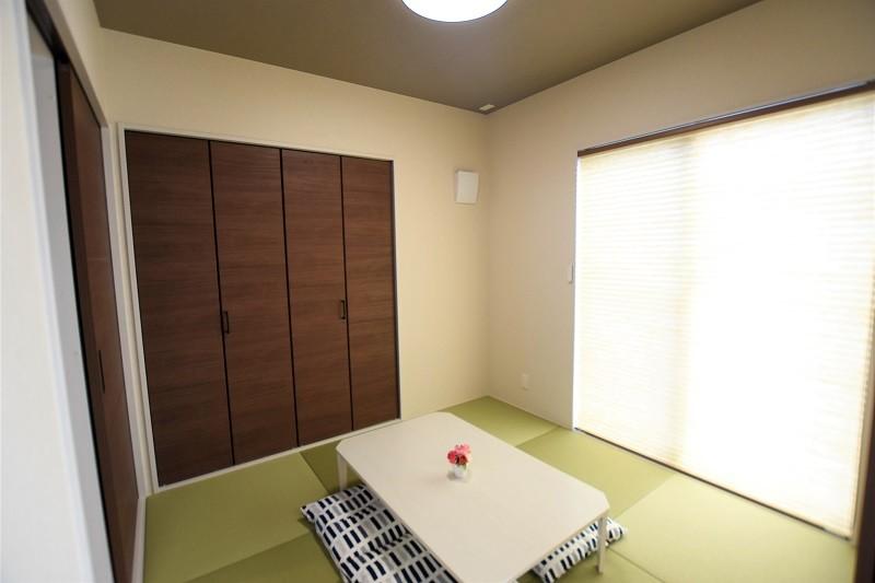 熊本市東区戸島3丁目 新築一戸建て 2号地モデルハウス・落ち着いた雰囲気のモダンな和室