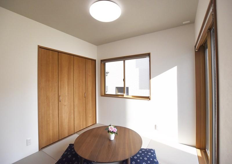 熊本市東区小山5丁目 新築一戸建て 4号地モデルハウス・モダンな和室