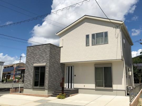 熊本市東区小山5丁目丁目 新築一戸建て 1号地モデルハウス 外観