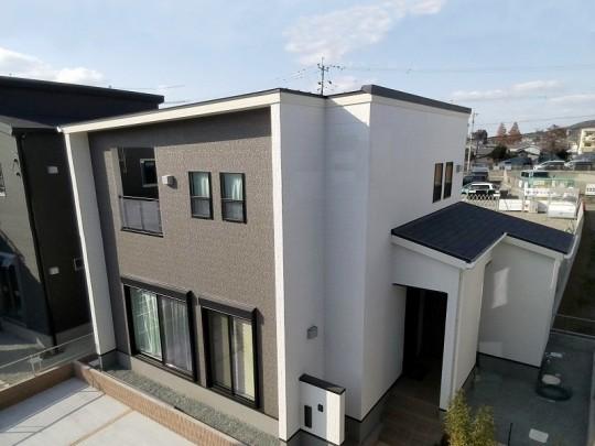 熊本市東区戸島3丁目 新築一戸建て 2号地モデルハウス外観