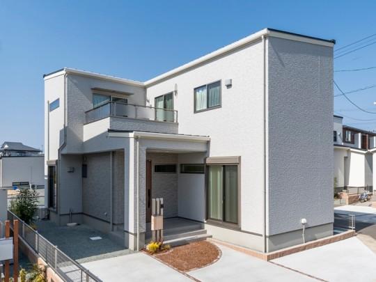 熊本市東区戸島3丁目 新築一戸建て 4号地モデルハウス外観