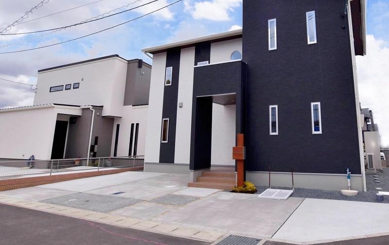 熊本市東区小山5丁目 新築一戸建て 4号地モデルハウス・駐車場