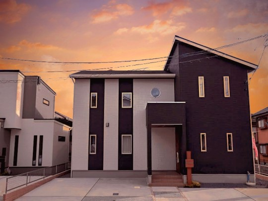 熊本市東区小山5丁目 新築一戸建て 4号地モデルハウス外観イメージ