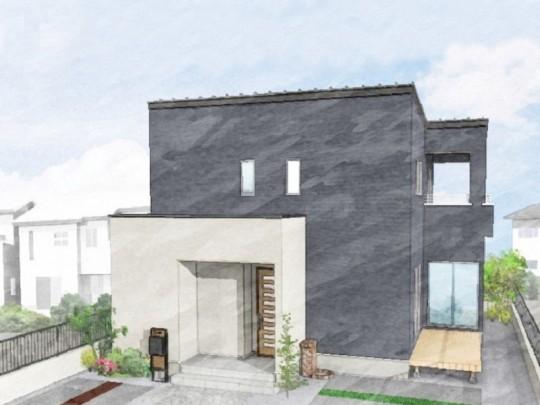 菊陽町久保田 新築一戸建て トレステージ菊陽町役場前Ⅱ3号地モデルハウスイメージパース