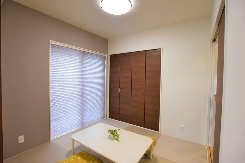 菊陽町久保田 新築一戸建て トレステージ菊陽町役場前Ⅱ3号地モデルハウス・和室