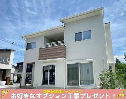 菊陽町久保田 新築一戸建て 5号地モデルハウス 外観