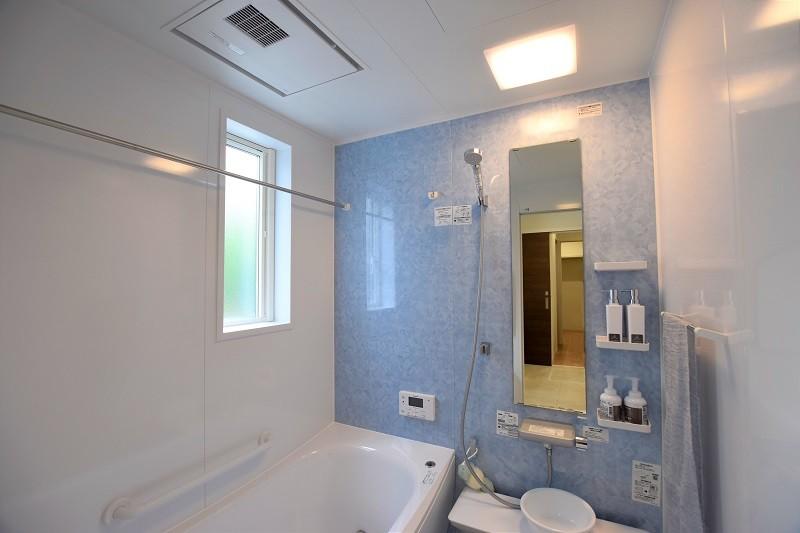 菊陽町久保田 新築一戸建て トレステージ菊陽町役場前Ⅱ3号地モデルハウス・浴室