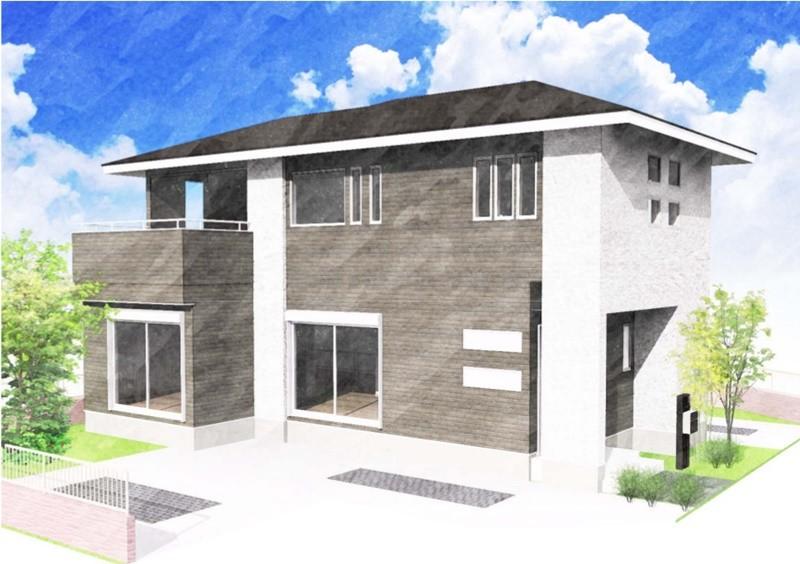 熊本市東区小山4丁目 新築一戸建て 4号地モデルハウスイメージパース