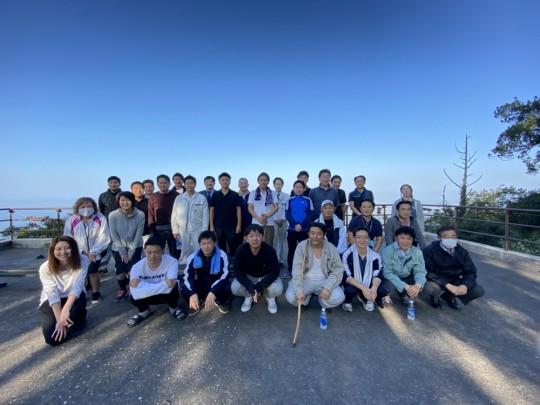 10.2金峰山登山