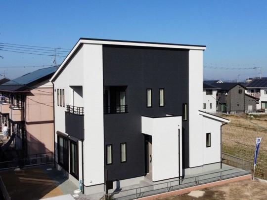 熊本市北区楡木3丁目 新築一戸建て 5号地モデルハウス外観