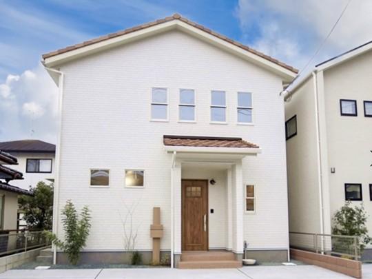 合志市須屋 新築一戸建て 2号地モデルハウス外観