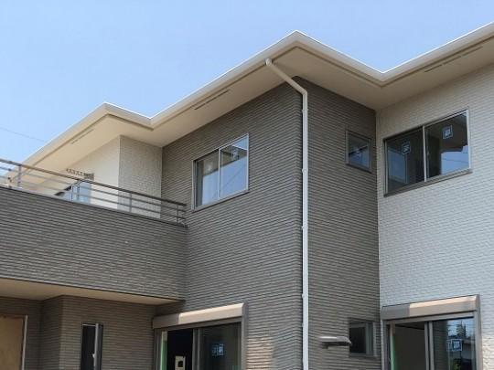 熊本市北区 新築一戸建て 2号地モデルハウス外観