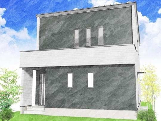 熊本市北区清水新地4丁目 新築一戸建て トレステージ清水中学校前2号地モデルハウスイメージパース