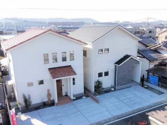 合志市須屋 新築一戸建て 1号地・2号地モデルハウス