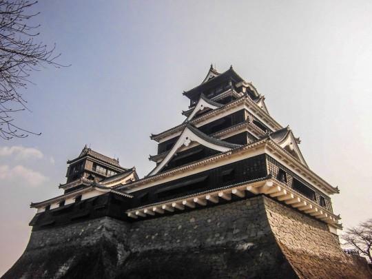 地震前の熊本城