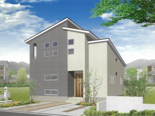 合志市御代志 新築一戸建て 5号地モデルハウス イメージパース