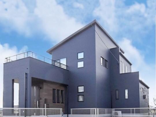大津町森 新築一戸建て 5号地モデルハウス外観