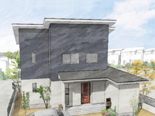 菊池郡大津町 新築一戸建て 7号地モデルハウスイメージパース