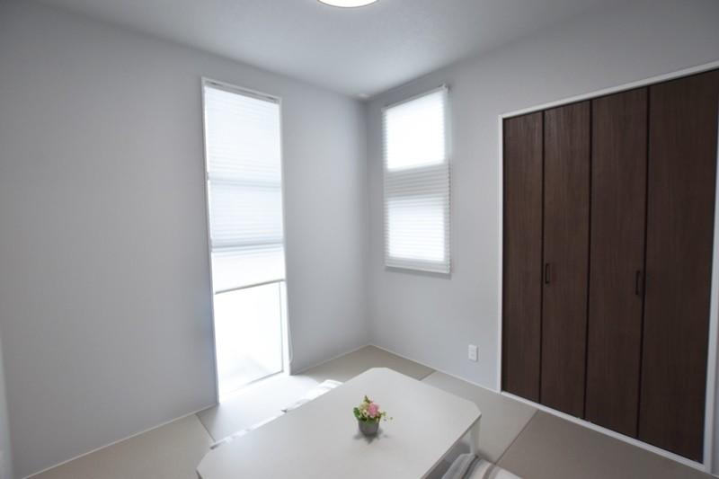 菊池郡大津町 新築一戸建て 7号地モデルハウス和室