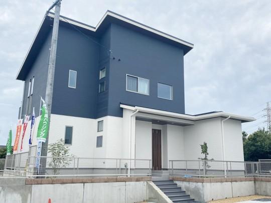 菊池郡大津町 新築一戸建て 7号地モデルハウス外観