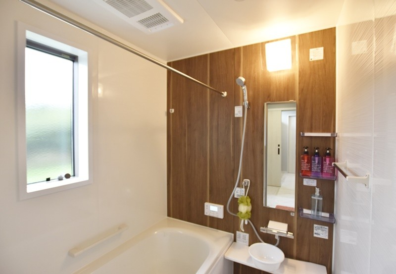 菊池郡大津町 新築一戸建て 7号地モデルハウス浴室
