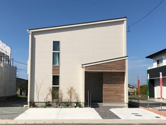 熊本市南区富合町 新築一戸建て 2号地モデルハウス 外観
