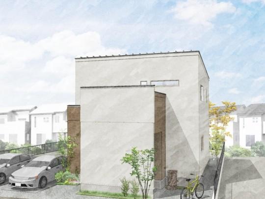 合志市合生 新築一戸建て 1号地モデルハウスイメージパース