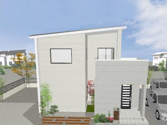 熊本市西区中島町 新築一戸建て 6号地モデルハウスイメージパースパース