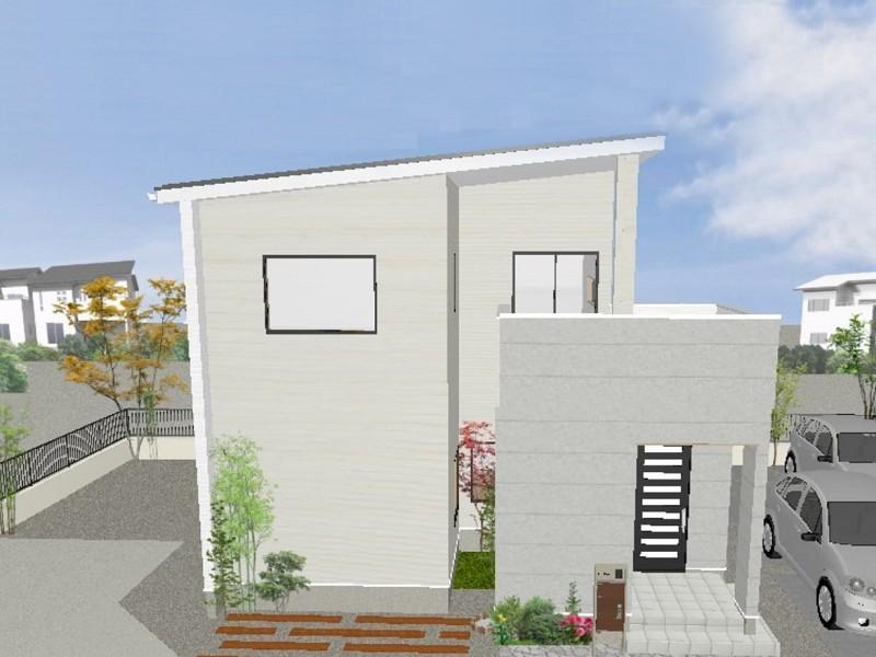 熊本市西区中島町 新築一戸建て 6号地モデルハウスイメージパース