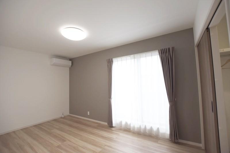 熊本市東区長嶺東5丁目 新築一戸建て 3号地モデルハウス・ウォークインクローゼット付きの主寝室