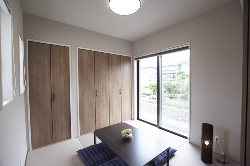 熊本市東区長嶺東5丁目 新築一戸建て 3号地モデルハウス・落ち着いた雰囲気の和室