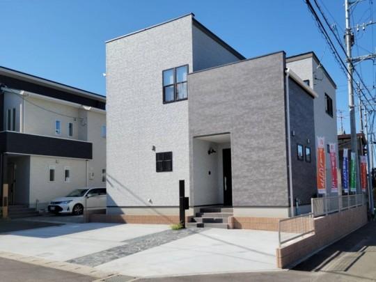 熊本市東区長嶺東 新築一戸建て 5号地モデルハウス 外観