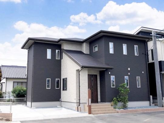 熊本市東区長嶺東5丁目 新築一戸建て 3号地モデルハウス外観
