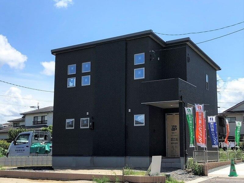 熊本市東区長嶺東5丁目 新築一戸建て 2号地モデルハウス(令和3年8月19日撮影)