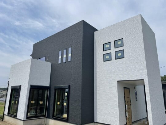 合志市合生 新築一戸建て 6号地モデルハウス 外観