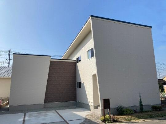 合志市合生 新築一戸建て トレスレージ合志市合生2号地モデルハウス 外観
