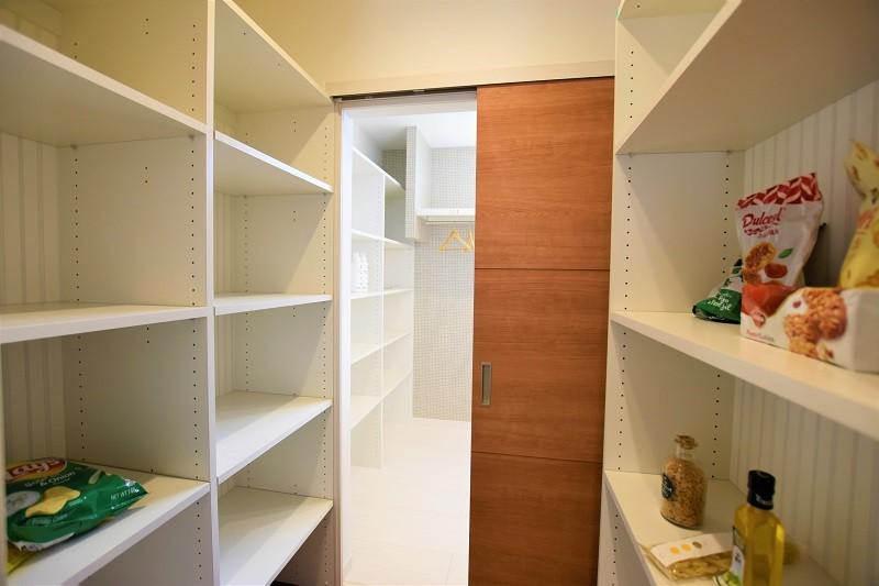 熊本市北区 新築一戸建て 4号地モデルハウス・パントリー→洗面脱衣室