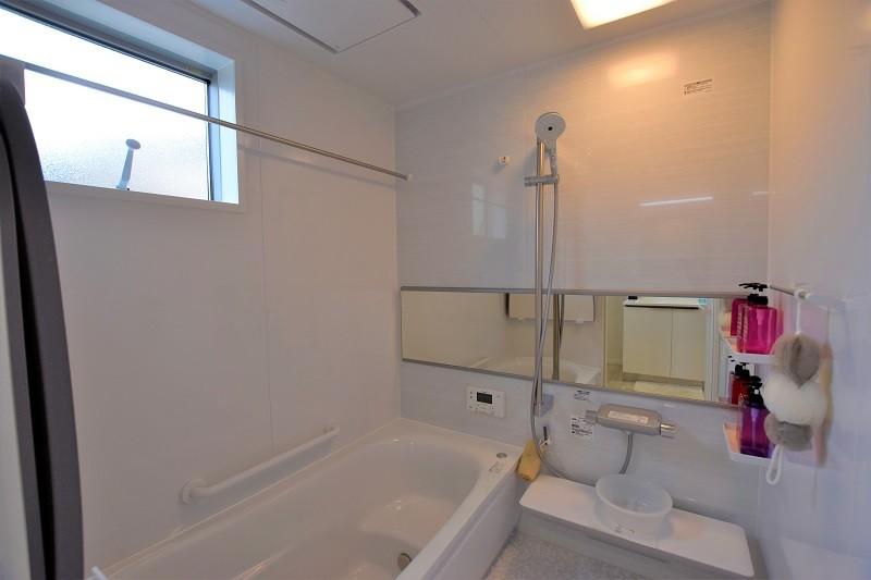 熊本市東区月出4丁目 新築一戸建て 3号地モデルハウス・浴室