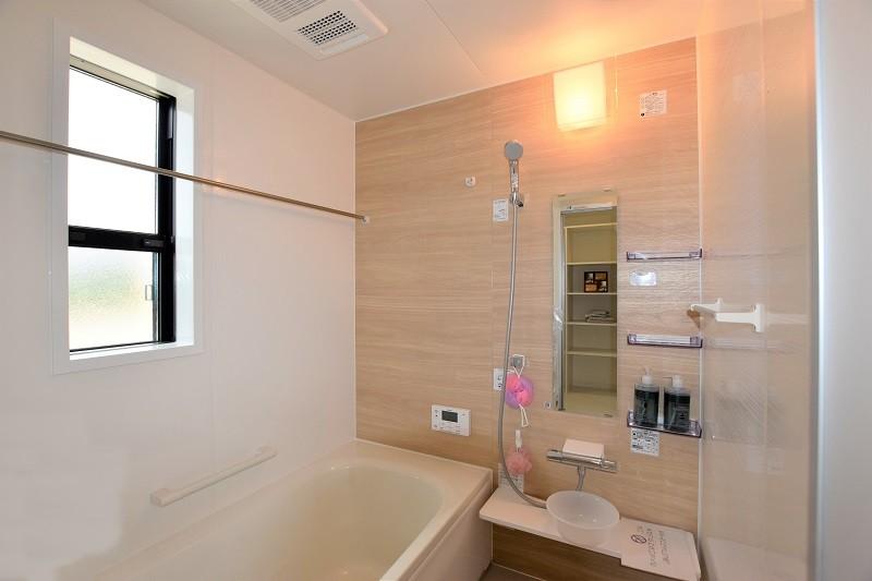 熊本市北区 新築一戸建て 4号地モデルハウス・浴室