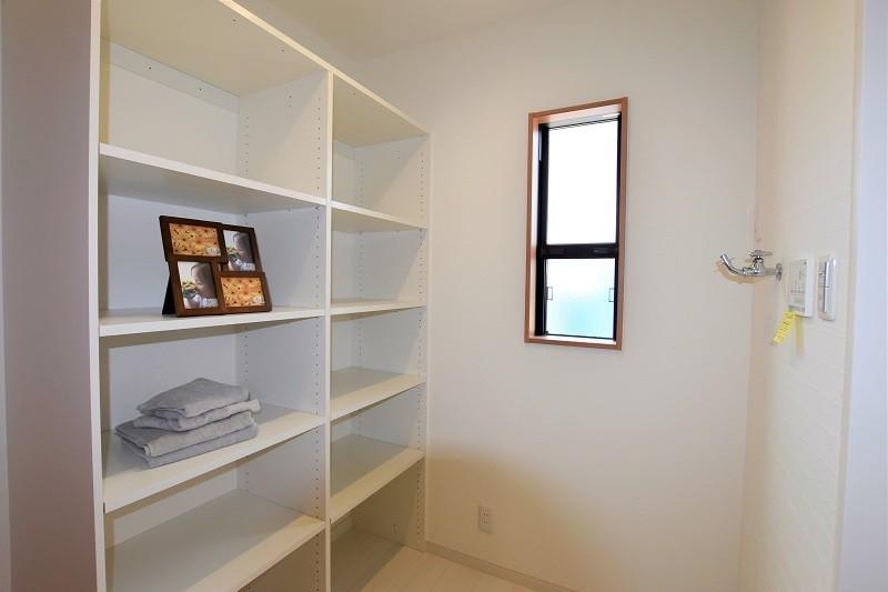 熊本市北区 新築一戸建て 4号地モデルハウス・脱衣室