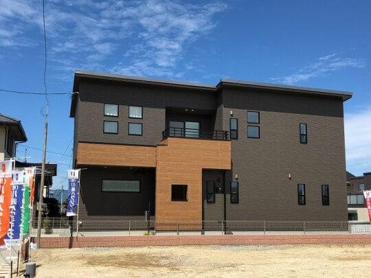 熊本市北区楠 新築一戸建て トレステージ楠小学校前4号地モデルハウス・外観