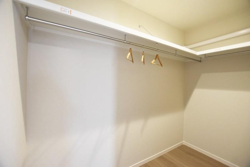 熊本市北区龍田7丁目 新築一戸建て 3号地モデルハウス ウォークインクローゼット