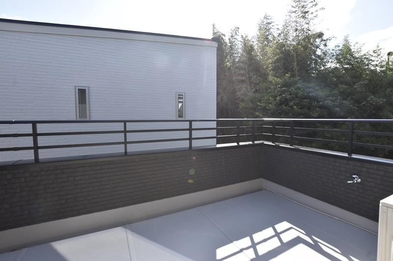 熊本市北区龍田7丁目 新築一戸建て 5号地モデルハウス バルコニー