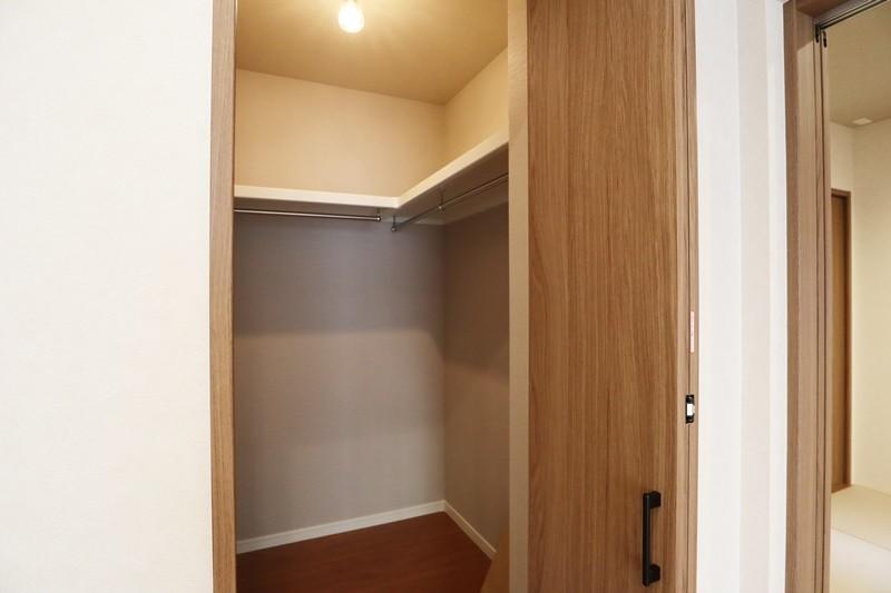 熊本市北区龍田7丁目 新築一戸建て 6号地モデルハウス ファミリークローゼット