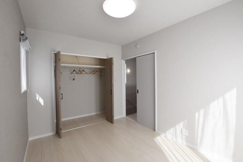 熊本市北区龍田7丁目 新築一戸建て 5号地モデルハウス 主寝室