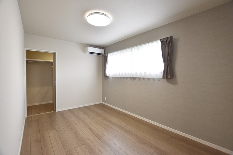 熊本市北区龍田7丁目 新築一戸建て 3号地モデルハウス 主寝室