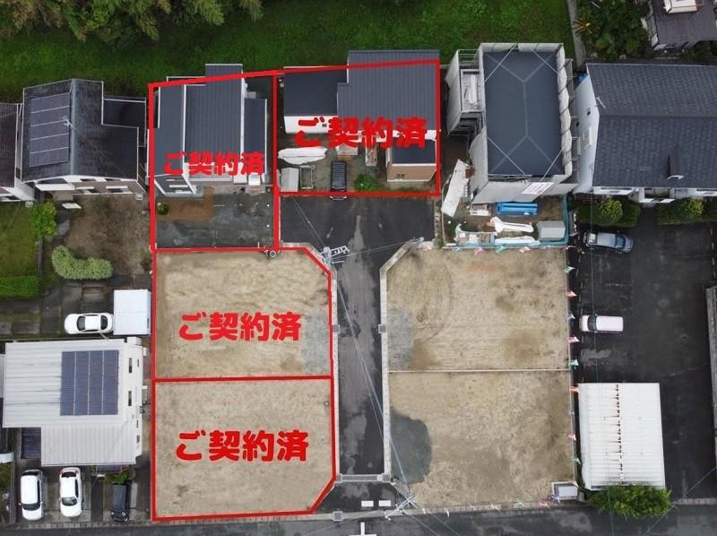 熊本市北区龍田7丁目 新築一戸建て 全体図