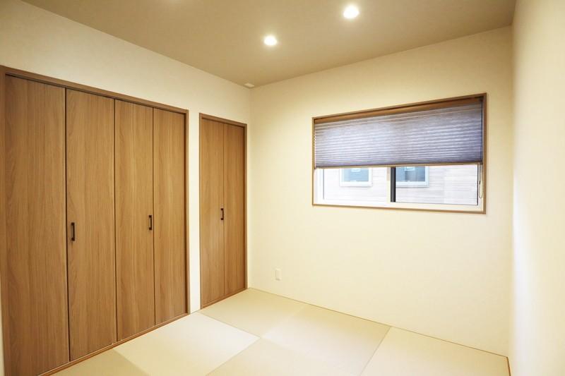 熊本市北区龍田7丁目 新築一戸建て 6号地モデルハウス 和室