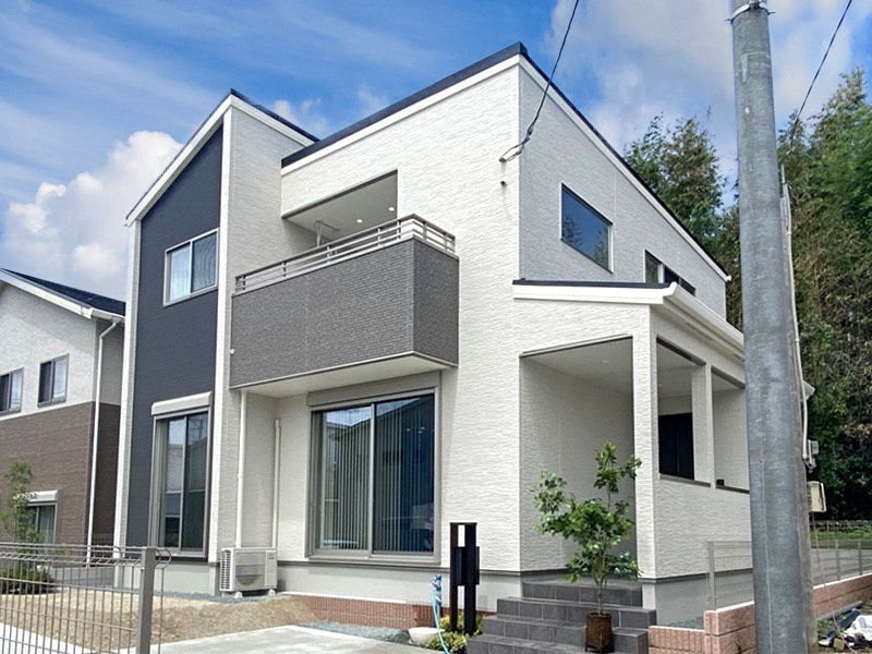 熊本市北区龍田7丁目 新築一戸建て 3号地モデルハウス 外観