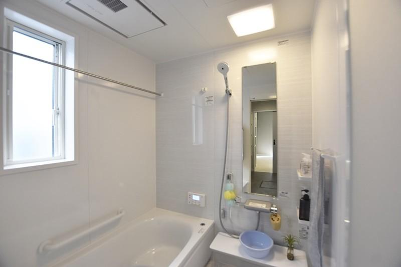熊本市北区龍田7丁目 新築一戸建て 5号地モデルハウス 浴室